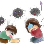 ウィルス性胃腸炎の感染経路や潜伏期間!感染性胃腸炎との違い