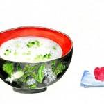 人日の節句とはどんな意味?七草粥以外に食べる料理や和菓子は?
