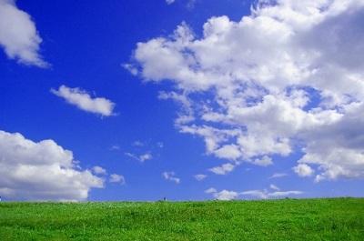 青空の景色画像