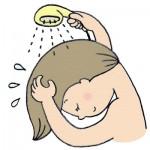 湯シャンの効果的なやり方!ふけやべたつき、臭いは大丈夫?
