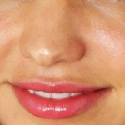 鼻テカリの画像