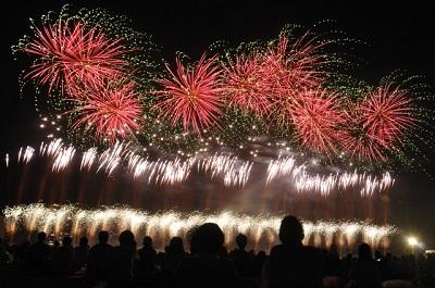 花火大会の画像