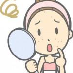 頬にできる吹き出物とニキビの原因の違い!対策や治療法は?