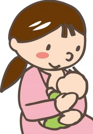 産後のイラスト