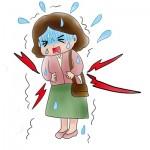 脂汗と冷や汗の違いは腹痛やめまい?顔のテカリ対策は?