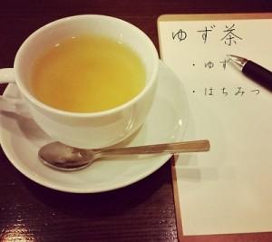 ゆず茶の画像