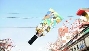 浅草羽子板市の画像