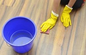 床掃除の画像