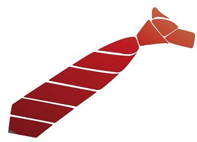 ネクタイのイラスト