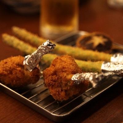 鶏のチューリップの画像