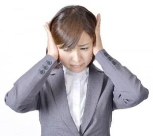 耳の違和感を表す画像