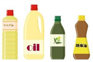 食用油のイラスト