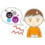 食中毒で熱が出る原因は?熱のみの場合は別の病気!?